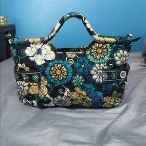 Vera Bradley Mod Floral Blue purse